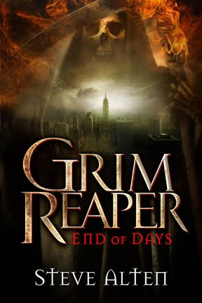 Grim Reaper: End of Days, thriller novel by Steve Alten