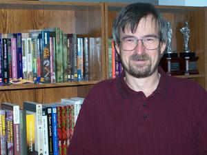 James Lowder, author, short story writer, and editor of many anthologies including Curse of the Full Moon