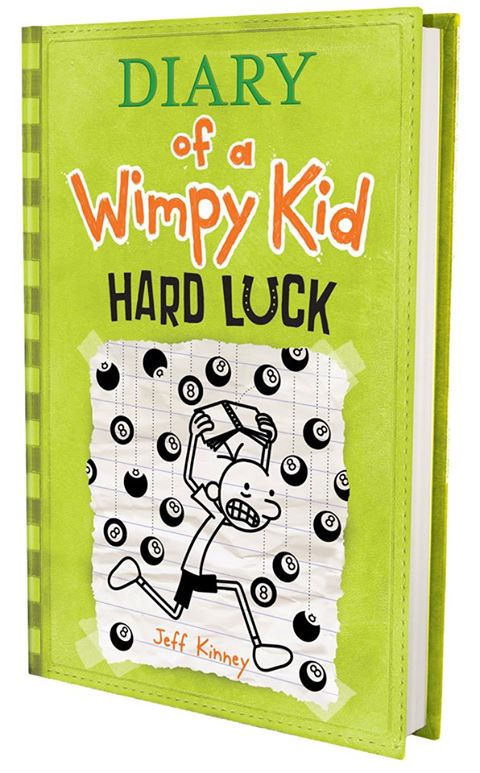Diary of A Wimpy Kid: Hard Luck cover