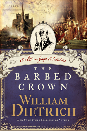 The Barbed Crown, Ethan Gage novel