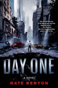 Day One, science fiction thriller novel by Nate Kenyon
