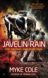 Javelin Rain, Myke Cole novel