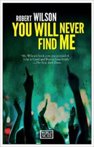YOU WILL NEVER FIND ME book